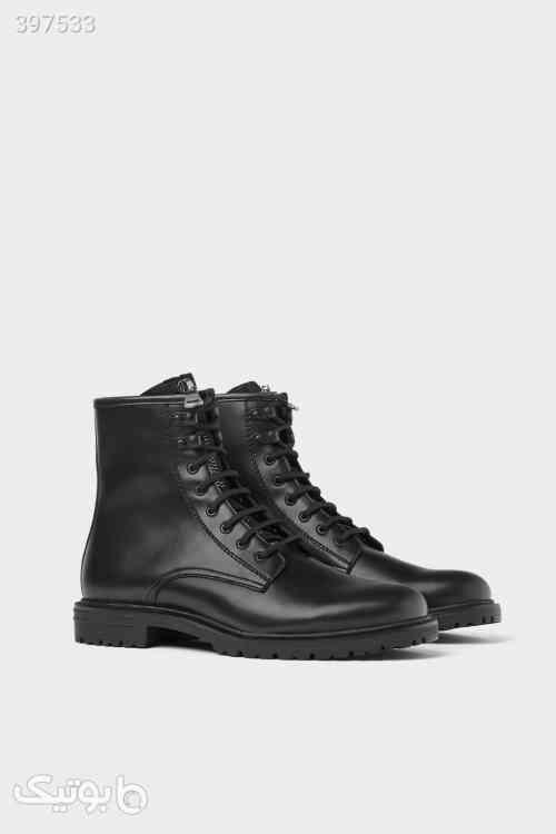 بوت مشکی برند زارا Zara Black Boots مشکی 98 2020