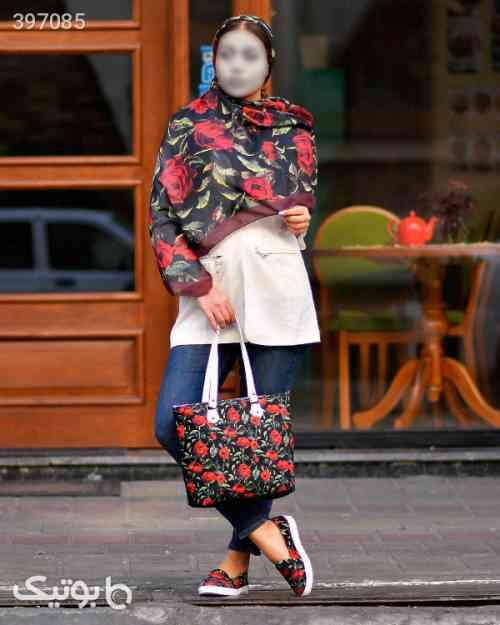 ست کیف شال و کفش زنانه  زرد 98 2020