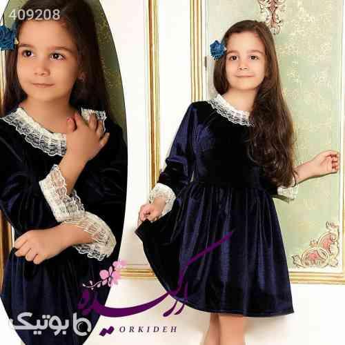 پیراهن مخمل - لباس کودک دخترانه