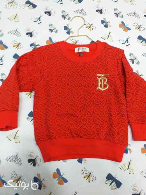 تی شرت تک پسرانه خارجی  قرمز 98 2020