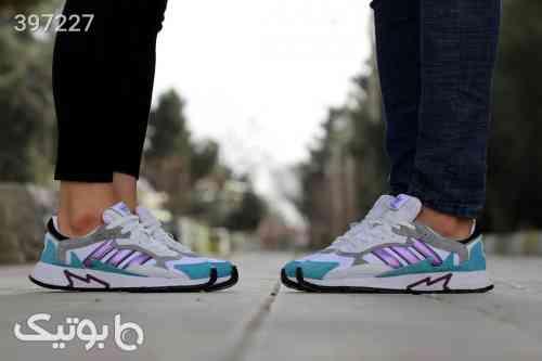 ست کفش زنانه و مردانه  سفید 98 2020