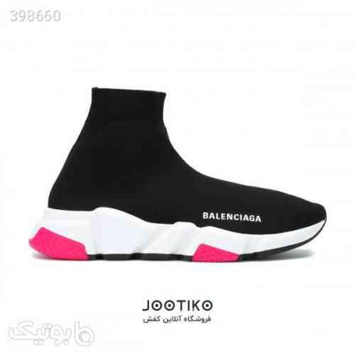 کفش بالنسیاگا Balenciaga جورابی زنانه مشکی 98 2020
