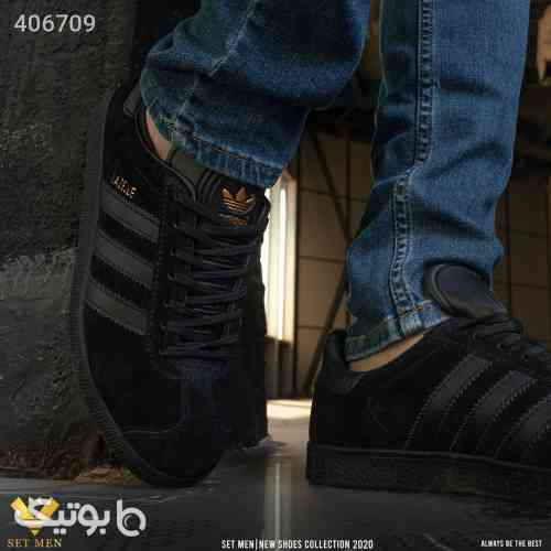 کفش کتانی مشکی 98 2020