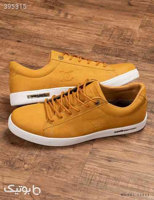 کفش مردانه Louis Vuitton مدل 11992 طلایی 98 2020