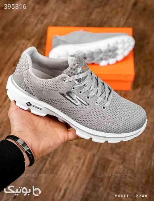 کفش مردانه Skechers مدل 12248 نقره ای 98 2020
