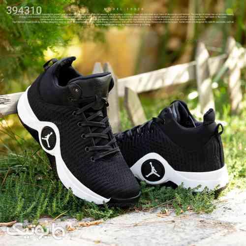 کفش مردانه jordan مدل 10928 مشکی 98 2020