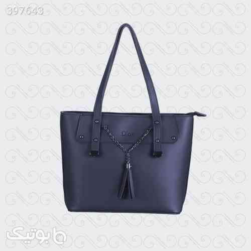 کیف چرم زنانه هایکپی دیور سورمه ای 98 2020