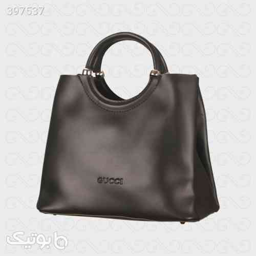 کیف چرم زنانه هایکپی گوچی مشکی 98 2020
