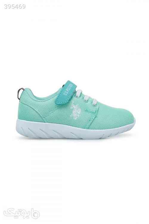کفش پیاده روی بچه گانه نعنایی رنگ برند US Polo Assn کد 158898484 - کیف و کفش بچگانه