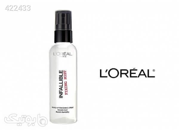 اسپری تثبیت کننده آرایش اینفالیبل لورال سفید آرایش پوست