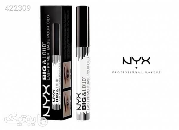 پرایمر مژه نیکس NYX Big And Loud Lash Primer مشکی آرایش چشم