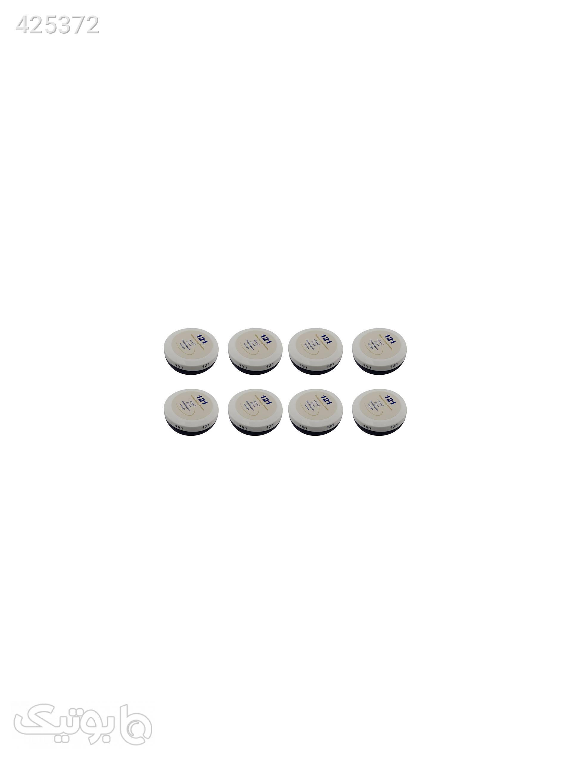 کرم مرطوب کننده 121 مدل A401 حجم 150 ml مجموعه 8 عددی سفید بهداشت و مراقبت پوست