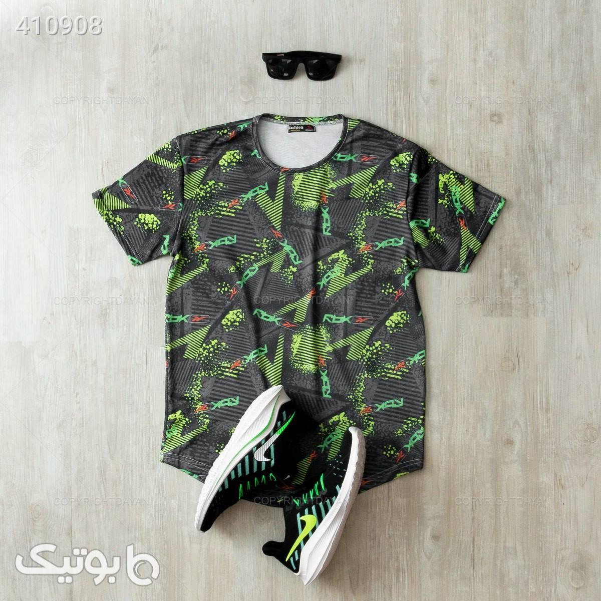 تیشرت آراز مدل  جگوار سبز تی شرت و پولو شرت مردانه
