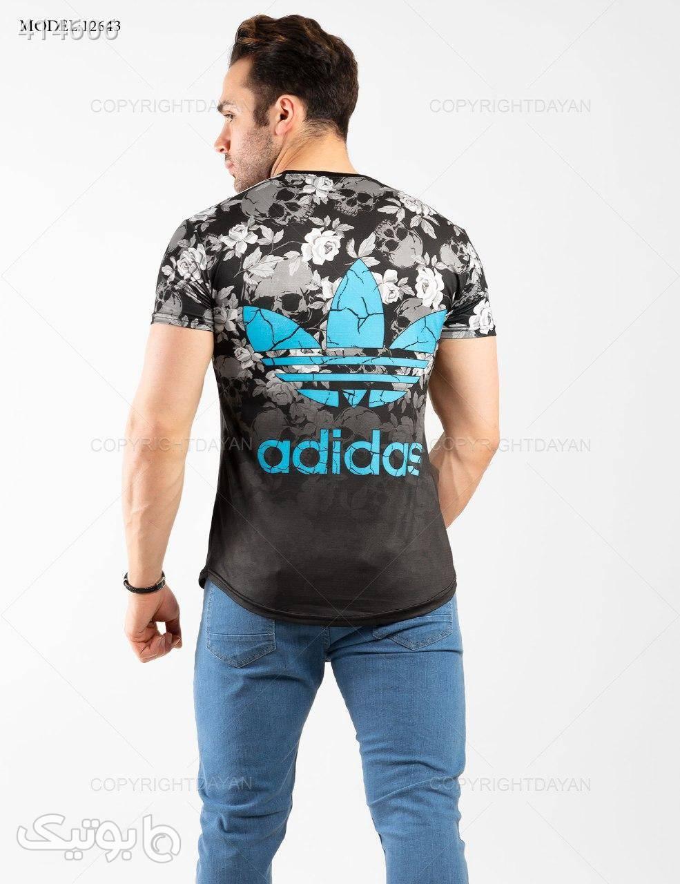 تیشرت مردانه Adidas مدل 12643 آبی تی شرت و پولو شرت مردانه