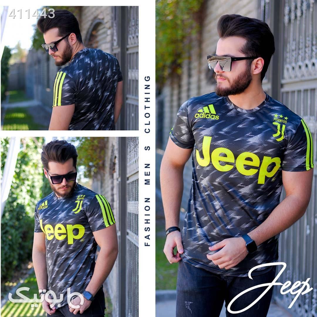 تیشرت مردانه Adidas مدل Duman نقره ای تی شرت و پولو شرت مردانه