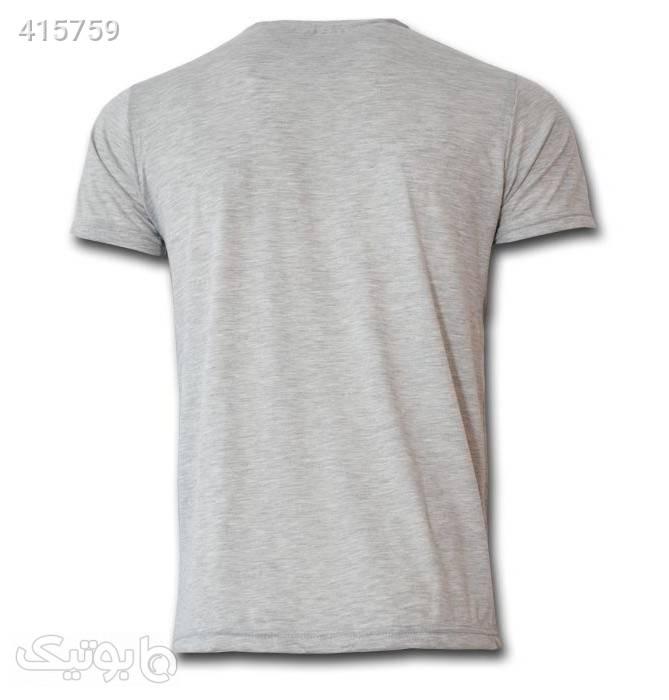 تی شرت مردانه طرح لیورپول کد 7A1 طوسی تی شرت و پولو شرت مردانه