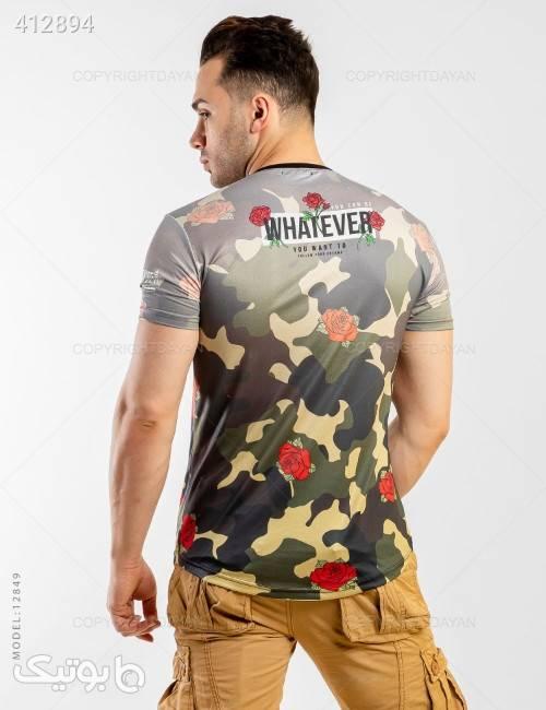 تیشرت مردانه Stark مدل 12849  سبز تی شرت و پولو شرت مردانه