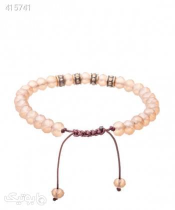 دستبند زنانه مهره ای دایس Dice کد DBS1059 کرم دستبند و پابند