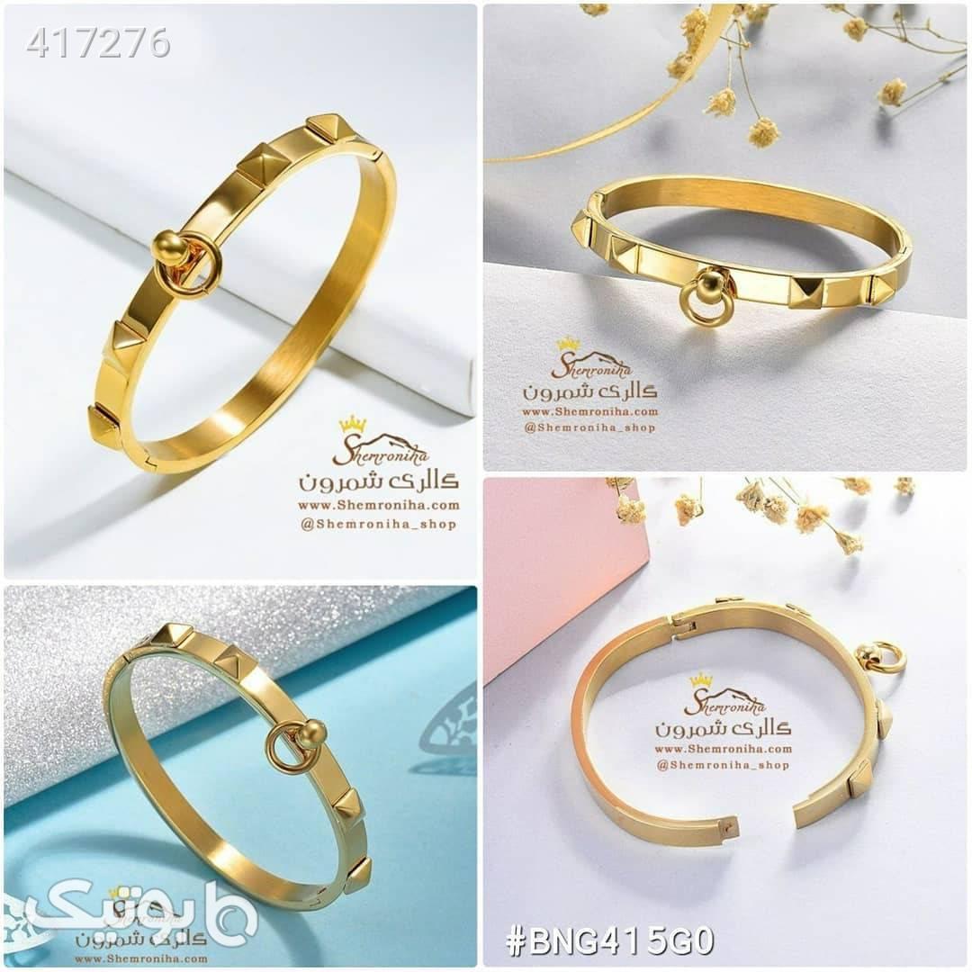 دستبند طرح کارتیه گلد طلایی دستبند و پابند