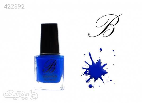 لاک مات بیجورکا Bijourka Nail Polish کد BV07 آبی زیبایی ناخن ها