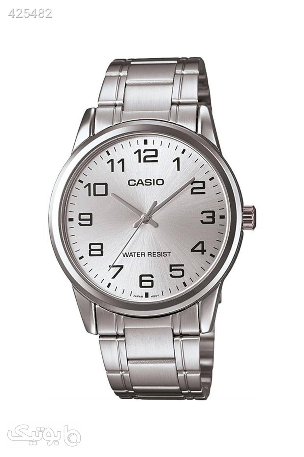 ساعت مردانه برند Casio کد 15856333 نقره ای ساعت