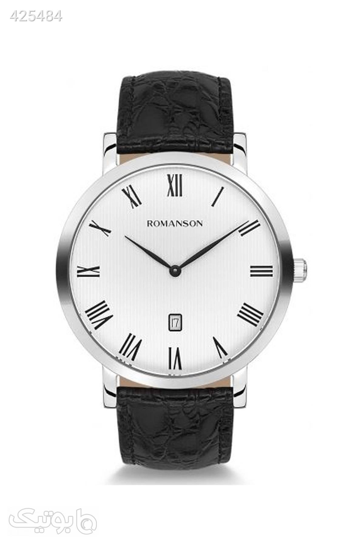 ساعت مردانه برند Romanson کد 1585633286 سفید ساعت
