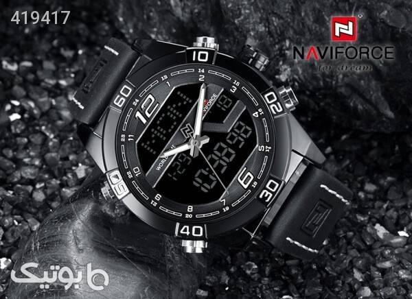 ساعت مچی ناوی فورس NAVIFORCE مدل NF9128M رنگ مشکی مشکی ساعت