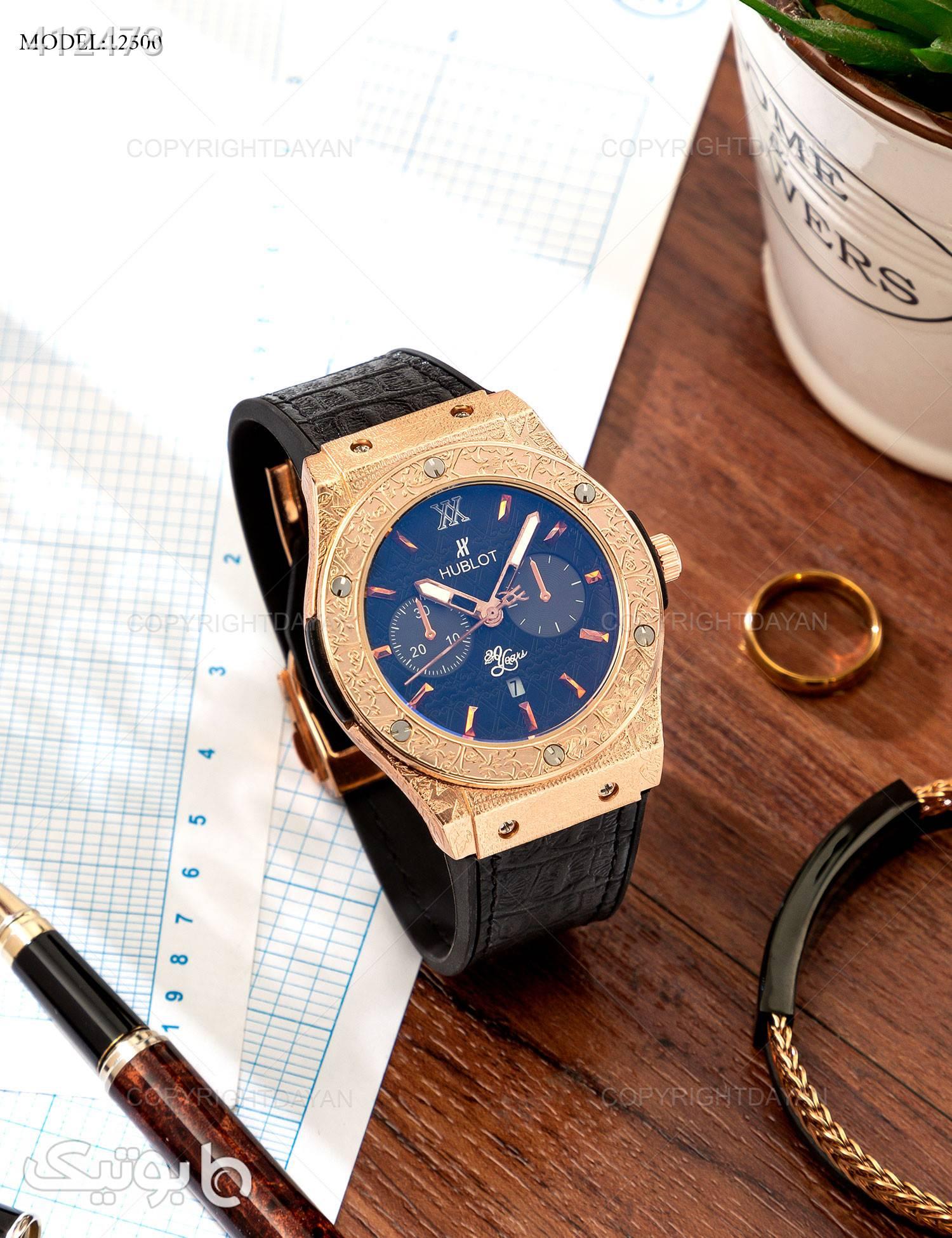 ساعت مچی Hublot مدل W2500 مشکی ساعت