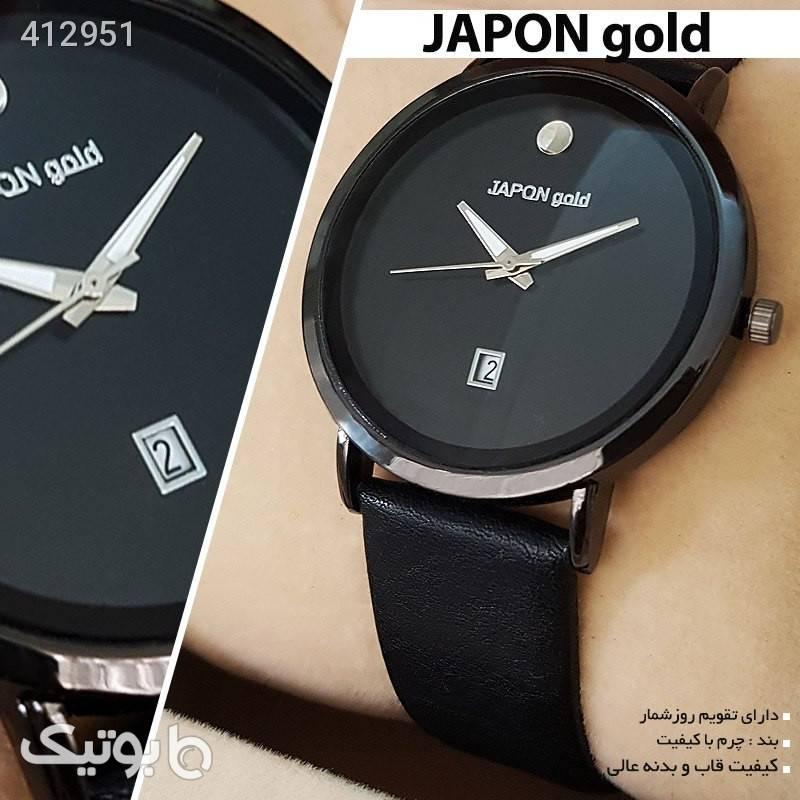 ساعت مچی JAPON gold مشکی ساعت