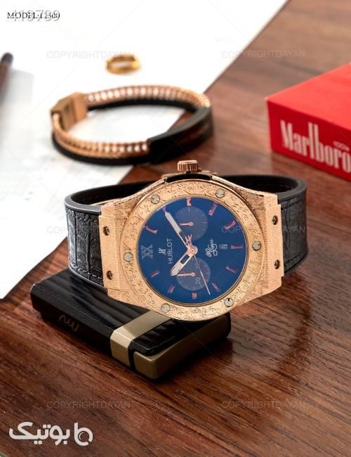 ساعت مچی Hublot مدل 12500  مشکی ساعت
