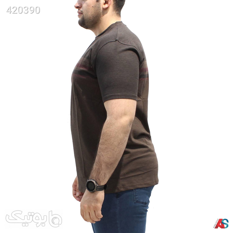 تیشرت سایز بزرگ کد محصولRO016 مشکی سایز بزرگ مردانه
