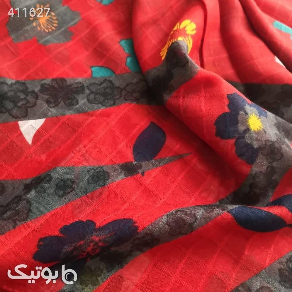 شال_نخی  قرمز شال و روسری