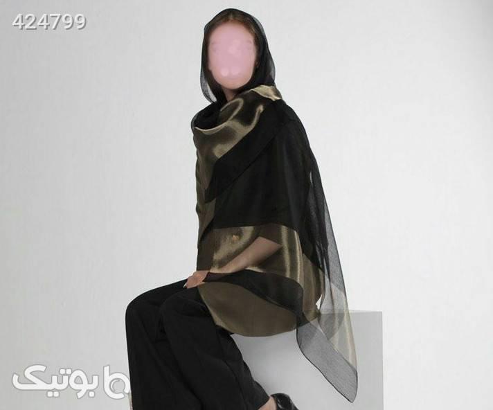 شال مجلسی مشکی شال و روسری