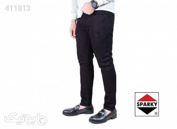 شلوار جین مشکی مردانه SPARKY مشکی شلوار مردانه