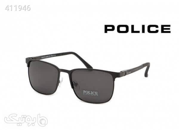 عینک آفتابی پلارایز پلیس POLICE کد P5802 مشکی عینک آفتابی