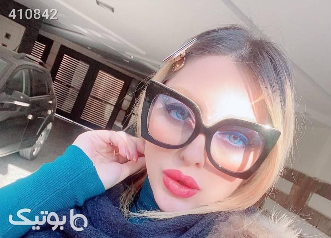 Gucci مشکی عینک آفتابی