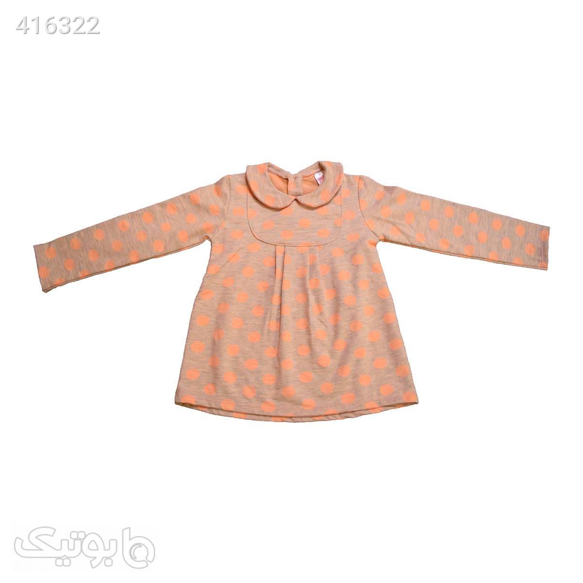 لباس کودک ضدلک هاینو - طرح آنیتا نارنجی نارنجی لباس کودک دخترانه