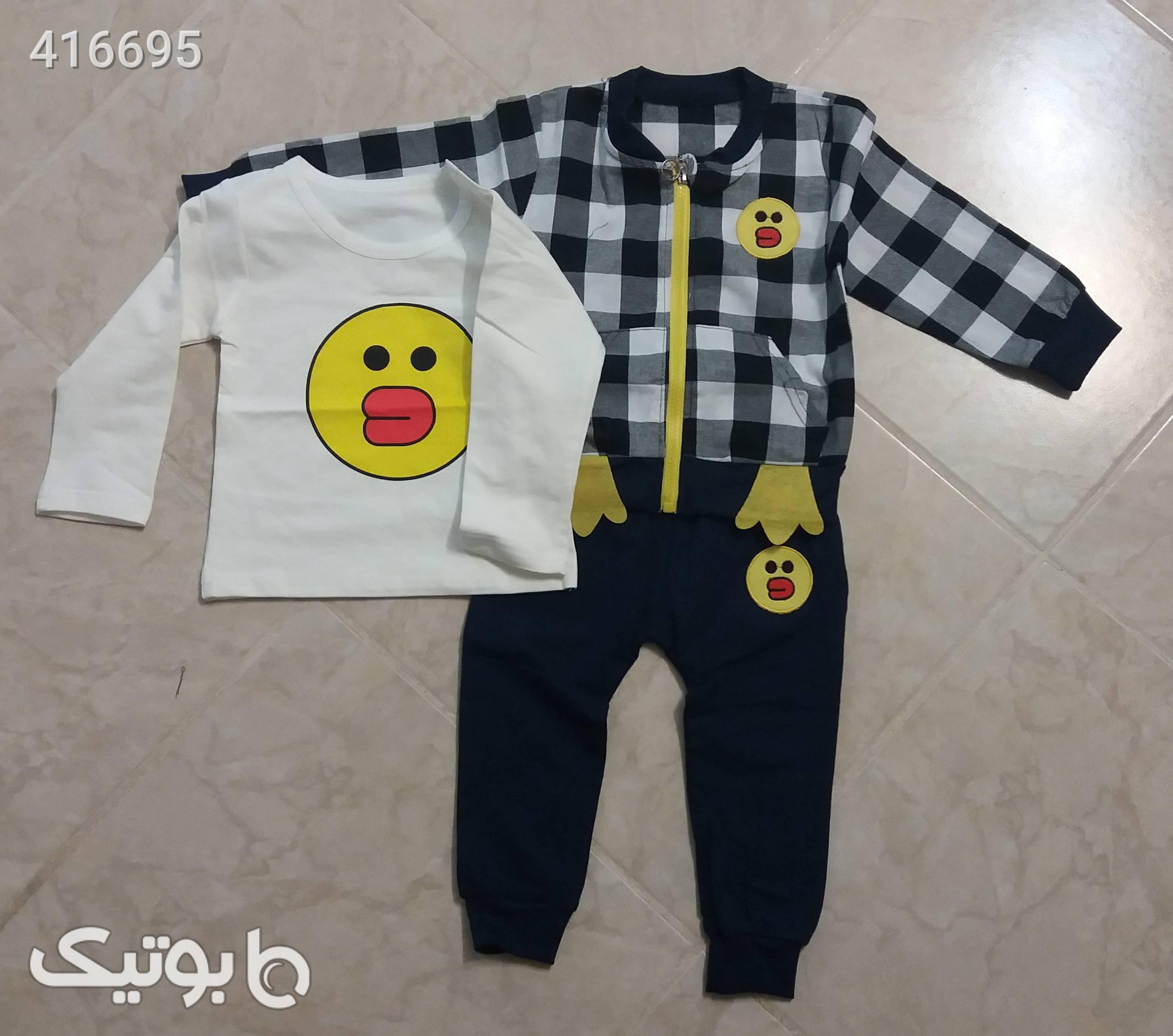 سه تکه پسرانه مشکی لباس کودک پسرانه