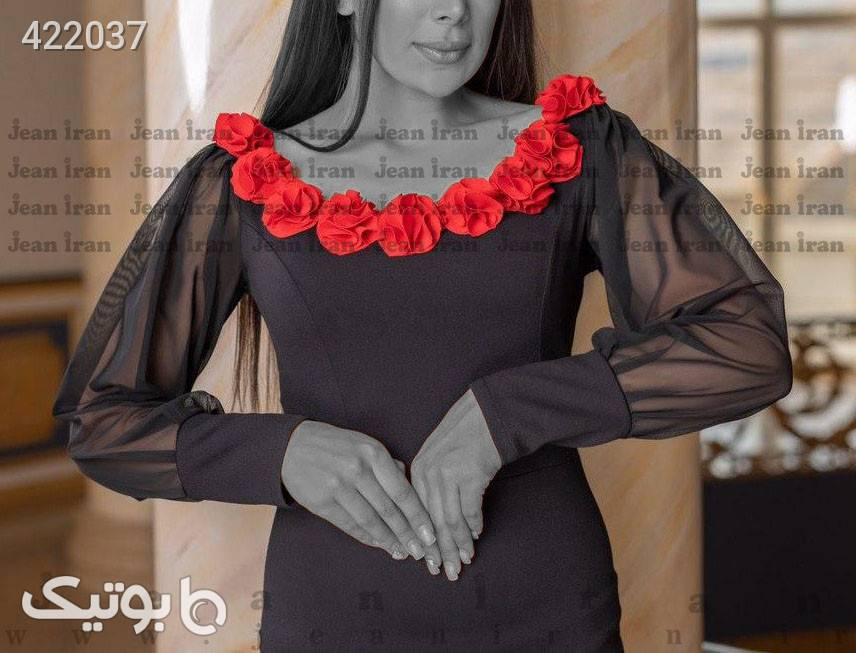 لباس مجلسی مدل وکتور مشکی لباس  مجلسی