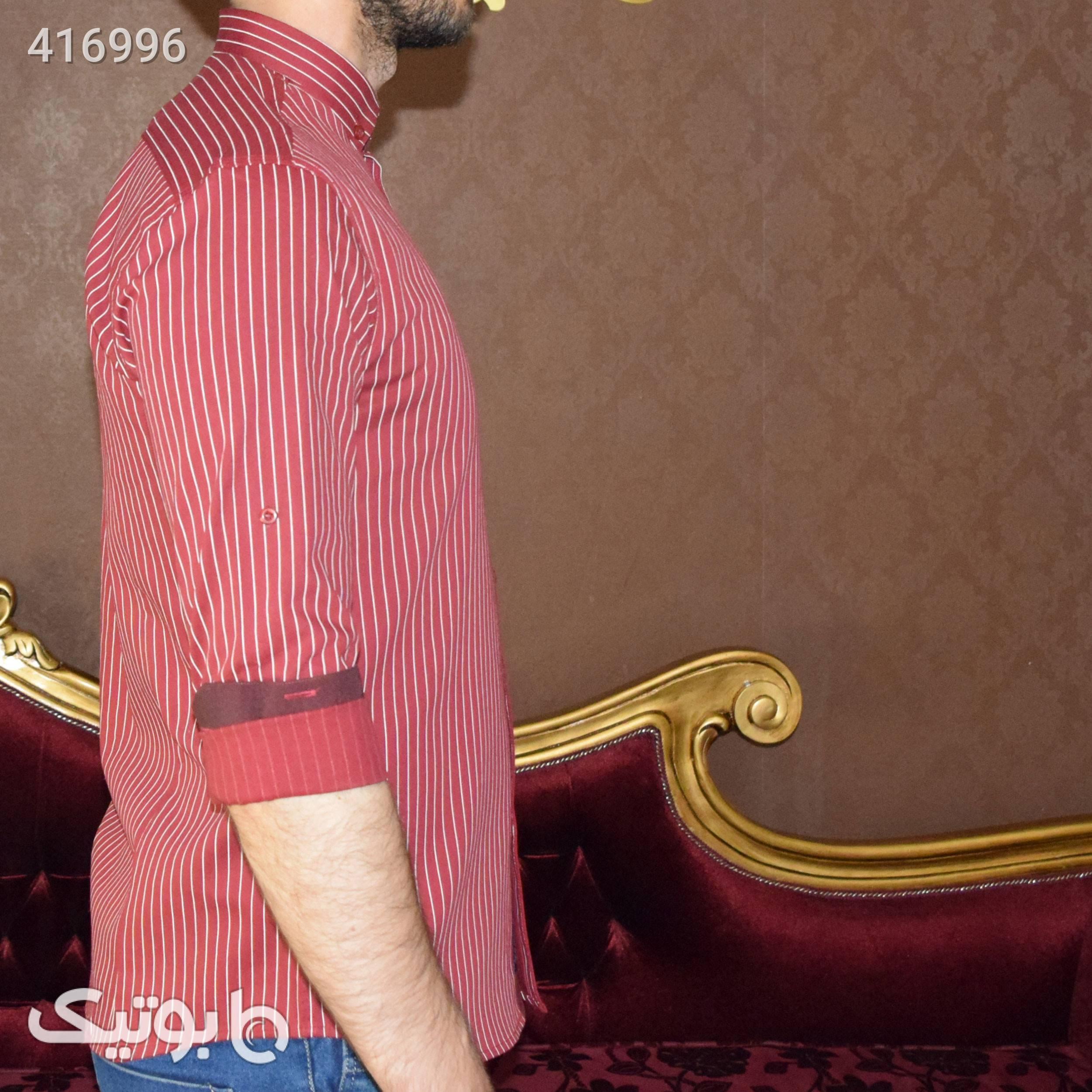 پیراهن مردانه اسپرت کد  1919970 قرمز پيراهن مردانه