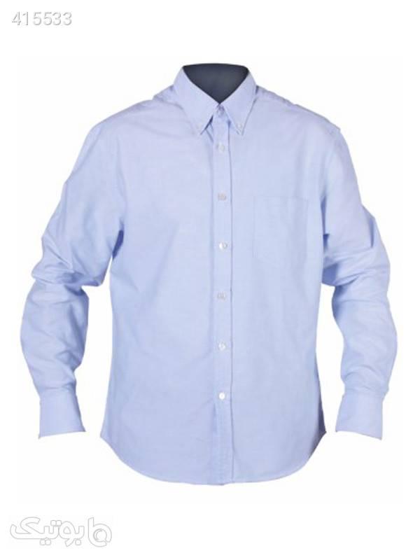 پیراهن مردانه جودون آبی آبی پيراهن مردانه