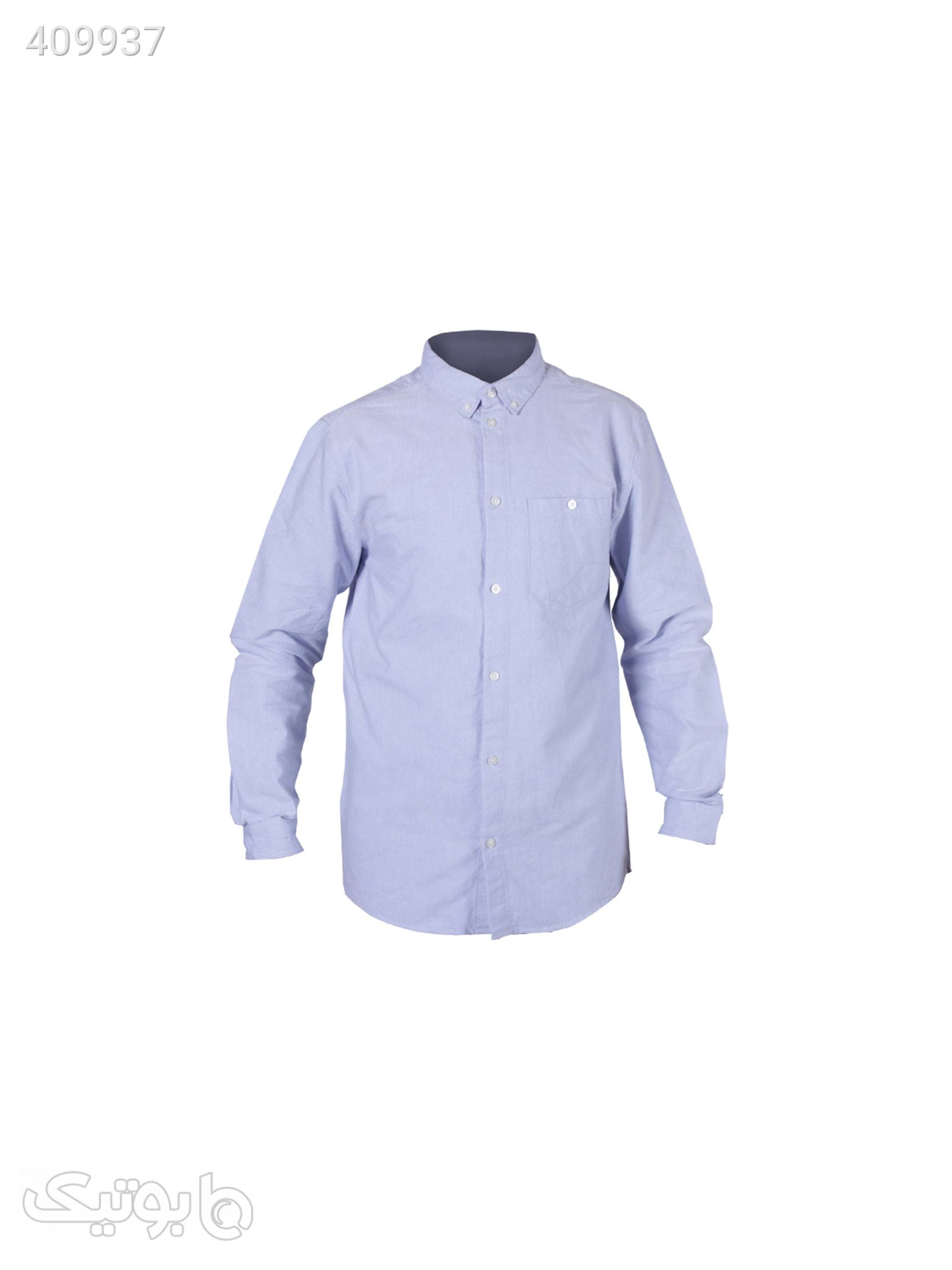 پیراهن مردانه ویک دی کد EL-36 آبی پيراهن مردانه