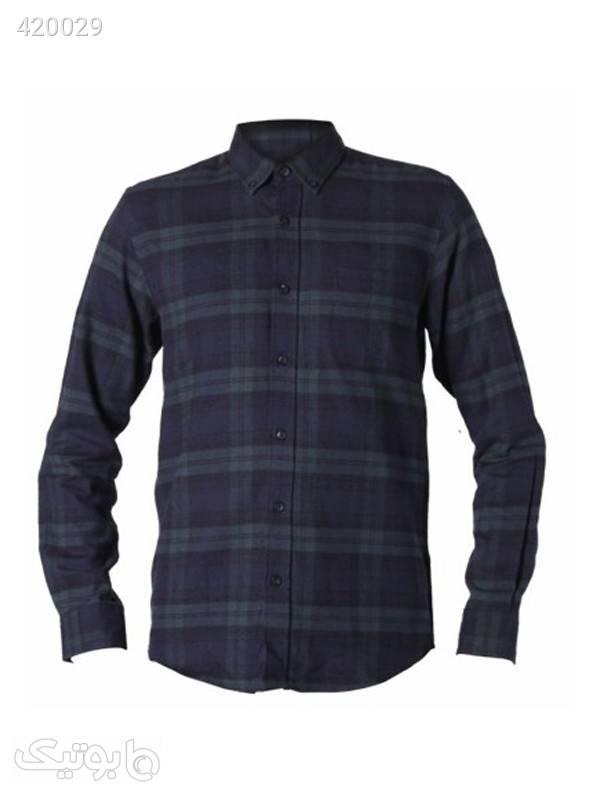 پیراهن پشمی مردانه کد EL-109 طوسی پيراهن مردانه
