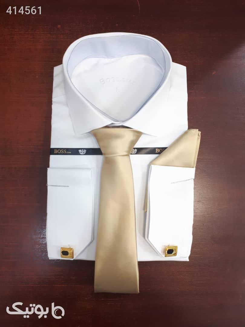 پیراهن کلاسیک Boss Aras  سفید پيراهن مردانه