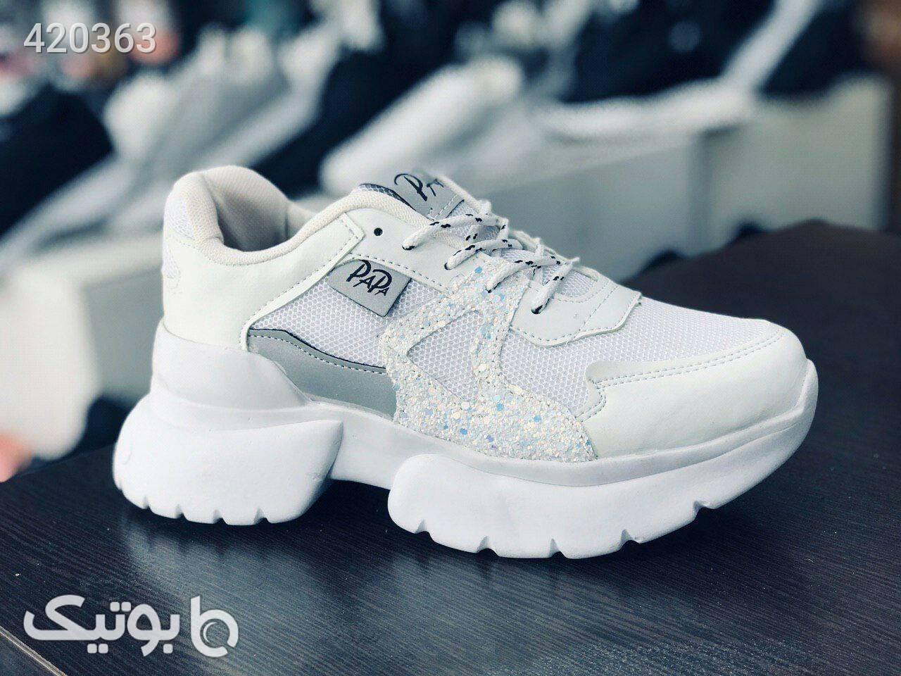 کفش کتانی مدل پاپا مشکی كتانی زنانه
