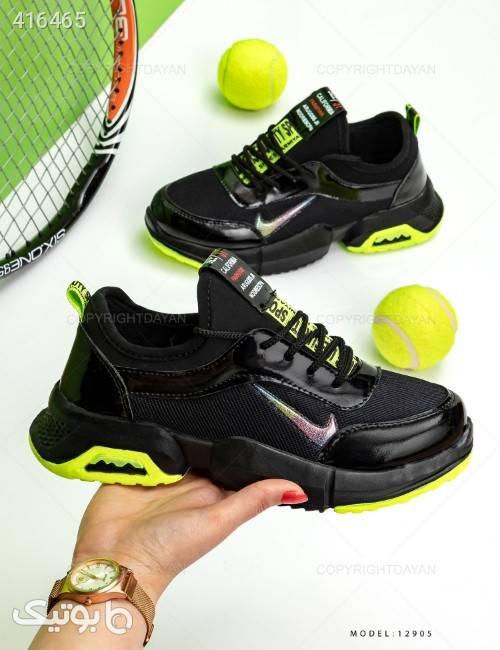 کفش زنانه Nike مدل 12905  سبز كتانی زنانه