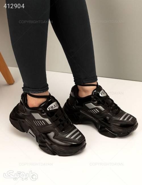 کفش زنانه Prada مدل 12694  مشکی كتانی زنانه