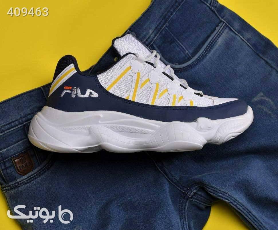 كفش مردانه FILA مدل DIMA سفید كتانی مردانه