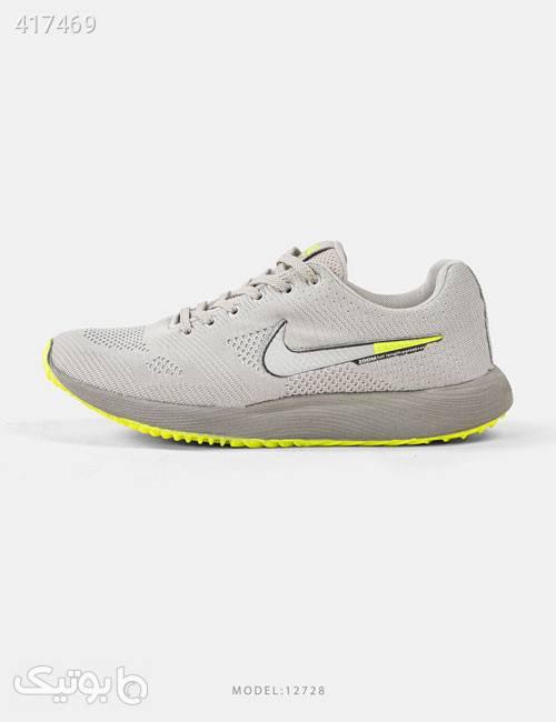 کفش مردانه Nike مدل 12728 نقره ای كتانی مردانه