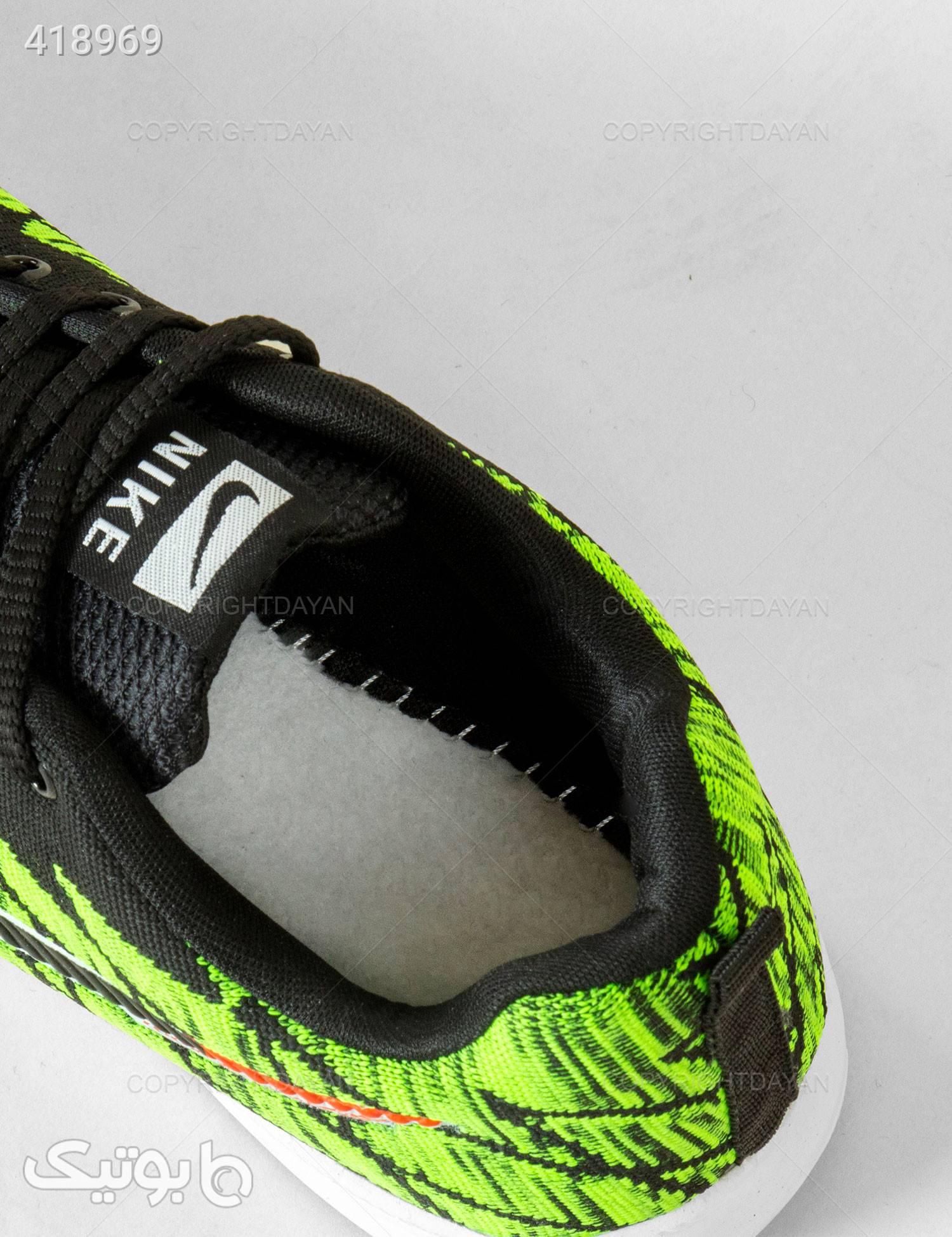 کفش مردانه Nike مدل 12902 سبز كتانی مردانه